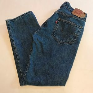 Levi Strauss Mens Jeans 501 Riveted Button Fly